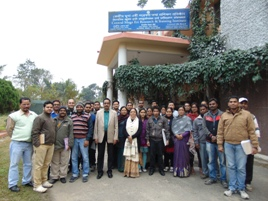 Training programme on 'Soil sample analysis' held on 1-2 Feb, 2016