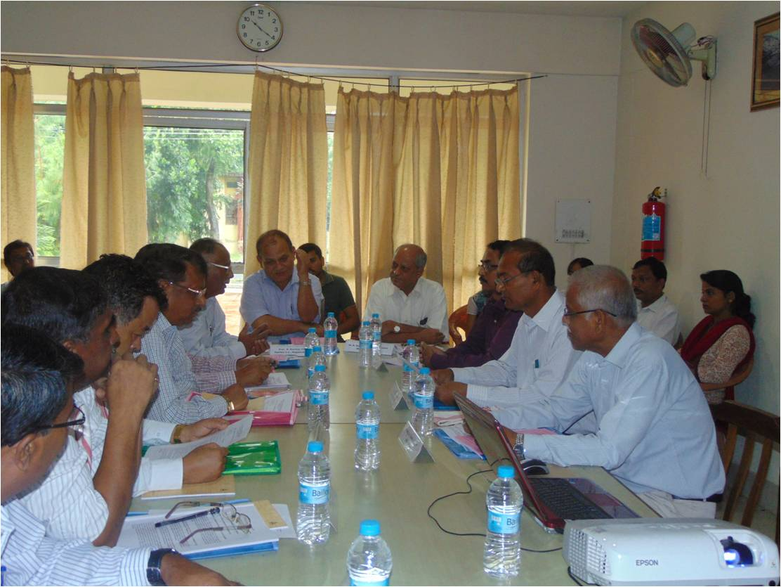 RAC Meeting held on 23rd Sept 2014