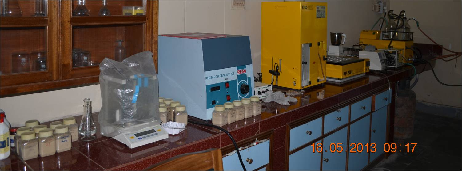Soil Science and Agro-Chemistry Laboratory